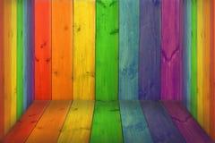 Mehrfarbige dekorative Bretter Lizenzfreies Stockfoto
