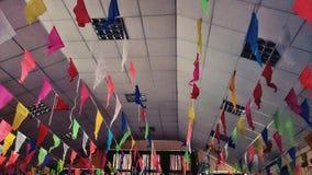 Mehrfarbige Feier Stockbilder