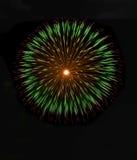 Mehrfarbige Feuerwerke Hintergrund, Feuerwerke Festival, Unabhängigkeitstag, Feuerwerke Stockfotografie