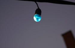 Mehrfarbige geführte Lampen Stockbild