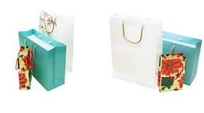 Mehrfarbige Geschenkpapierpakete Lizenzfreie Stockfotografie