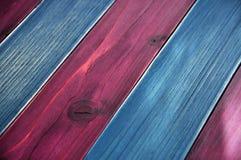 Mehrfarbige hölzerne Planke stockfotografie