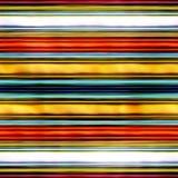 Mehrfarbige horizontale Linien der nahtlosen Beschaffenheit Stockfotografie