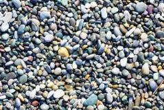 Mehrfarbige Kiesel und Steine Lizenzfreie Stockfotografie