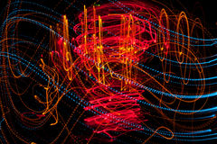 Mehrfarbige Leuchten Lizenzfreies Stockbild