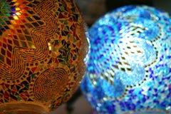 Mehrfarbige Lichter lizenzfreie stockfotos