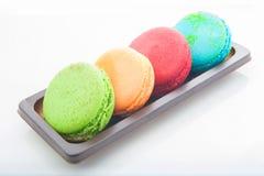 Mehrfarbige macarons Stockfotografie