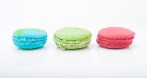 Mehrfarbige macarons Lizenzfreies Stockbild