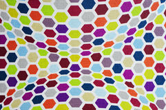 Mehrfarbige Musterpunkte Stockfotografie