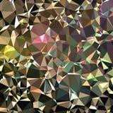 Mehrfarbige Rauten von verschiedenen Formen lizenzfreie abbildung