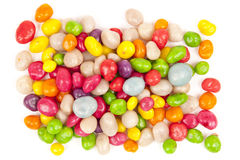 Mehrfarbige Süßigkeitkiesel stockfotografie