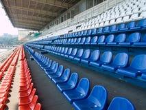 Mehrfarbige Sitze Stockfoto