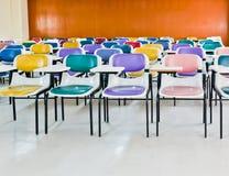 Mehrfarbige Stühle lizenzfreies stockbild