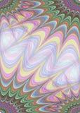 Mehrfarbige Sterne - Seitenschablonendesign Stockfotografie