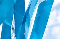 Mehrfarbige Streifen von Bändern Lizenzfreie Stockfotografie