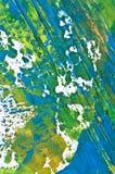 Mehrfarbige Struktur des Hintergrundes. Acryle Lizenzfreie Stockbilder