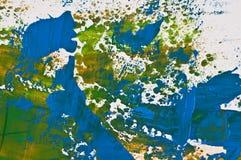 Mehrfarbige Struktur des Hintergrundes. Acryle Lizenzfreie Stockfotos