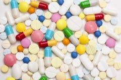 Mehrfarbige Tabletten II Stockfotografie