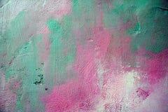 Mehrfarbige Wand Lizenzfreies Stockfoto