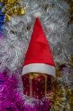 Mehrfarbige Weihnachtsdekorationen für die Dekoration für das neue Jahr Lizenzfreie Stockbilder