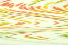 Mehrfarbige Wellen auf dem weißen Hintergrund lizenzfreie stockfotos
