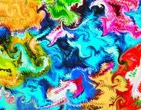 Mehrfarbiger Abstraktionshintergrund Stockfotografie