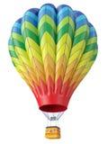 Mehrfarbiger Ballon stock abbildung