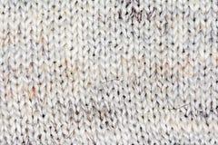 Mehrfarbiger dekorativer Beschaffenheitshintergrund des woolen Gewebes, Abschluss oben Lizenzfreies Stockfoto