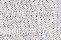 Mehrfarbiger dekorativer Beschaffenheitshintergrund des woolen Gewebes, Abschluss oben Lizenzfreie Stockfotografie