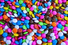 Mehrfarbiger Drageetropfen-Süßigkeitshintergrund Lizenzfreie Stockbilder