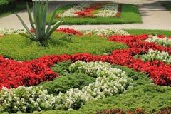Flowerbed stockfotografie