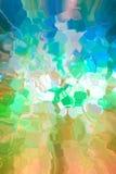 Mehrfarbiger geometrischer abstrakter Hintergrund Stockbild