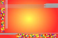 Mehrfarbiger Hintergrund Lizenzfreie Stockbilder