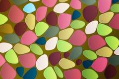 Mehrfarbiger Hintergrund des abstrakten Mosaiks Lizenzfreie Stockbilder