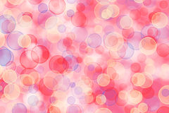 Mehrfarbiger Hintergrund für Grüße mit Unschärfe bokeh Stockbilder