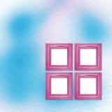 Mehrfarbiger Hintergrund für Grüße oder Einladungen mit hölzernem f Stockfotografie