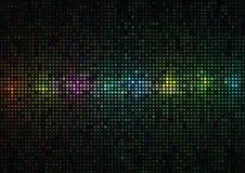 Mehrfarbiger Hintergrund von den Quadraten und von den Kreisen Lizenzfreie Stockbilder