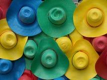 Mehrfarbiger Hut stockfotos