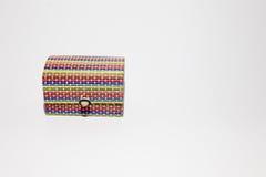 Mehrfarbiger Minikasten Lizenzfreies Stockbild