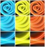 Mehrfarbiger Neonhintergrund Lizenzfreie Stockbilder