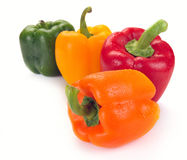 Mehrfarbiger Paprika Stockbild