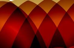 Mehrfarbiger schattierter gewellter Hintergrund des abstrakten Vektors mit Blasen, Tapete, Vektorillustration, lizenzfreie abbildung