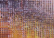 Mehrfarbiger vibrierender quadratischer und gestreifter Hintergrund Lizenzfreie Stockbilder