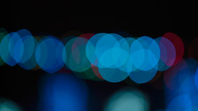 Mehrfarbiges abstraktes bokeh Lizenzfreies Stockfoto