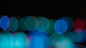 Mehrfarbiges abstraktes bokeh Stockbild