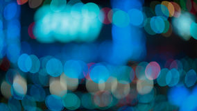 Mehrfarbiges abstraktes bokeh Stockfotos