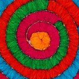 Mehrfarbiges Acrylgarn als Hintergrund Lizenzfreie Stockfotos