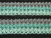 Mehrfarbiges gewirktes Muster Stockfoto