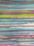 Mehrfarbiges handgemachtes Patchwork Stockbild
