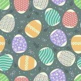 Mehrfarbiges Muster Ostern lizenzfreie stockfotos